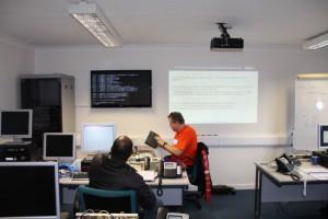 Training at TeleSpeak